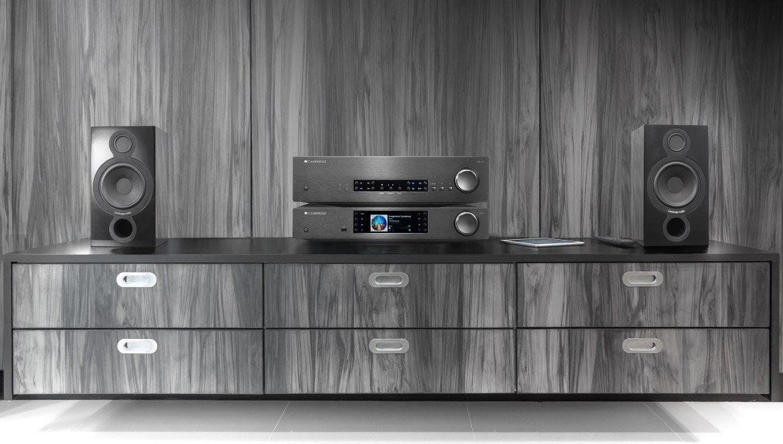 Cambridge Audio CX Hi-Fi stack with speakers