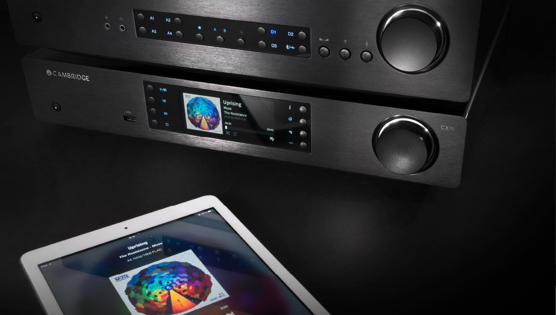 Cambridge Audio CXN and CXA with iPad