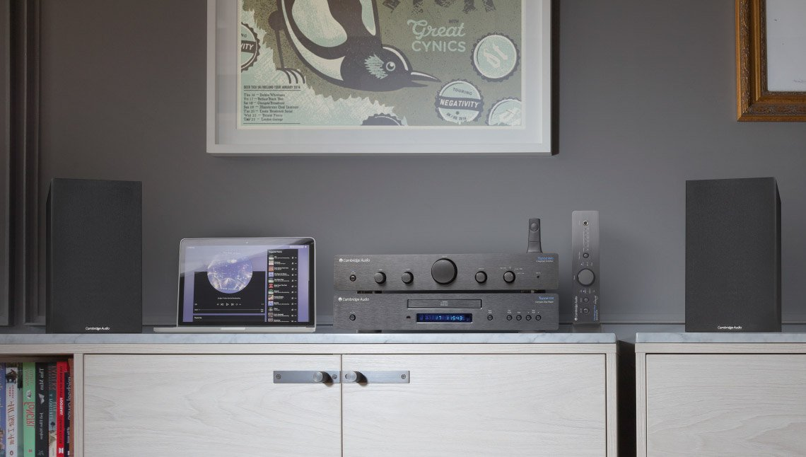 Cambridge Audio Topaz beginner hi-fi series