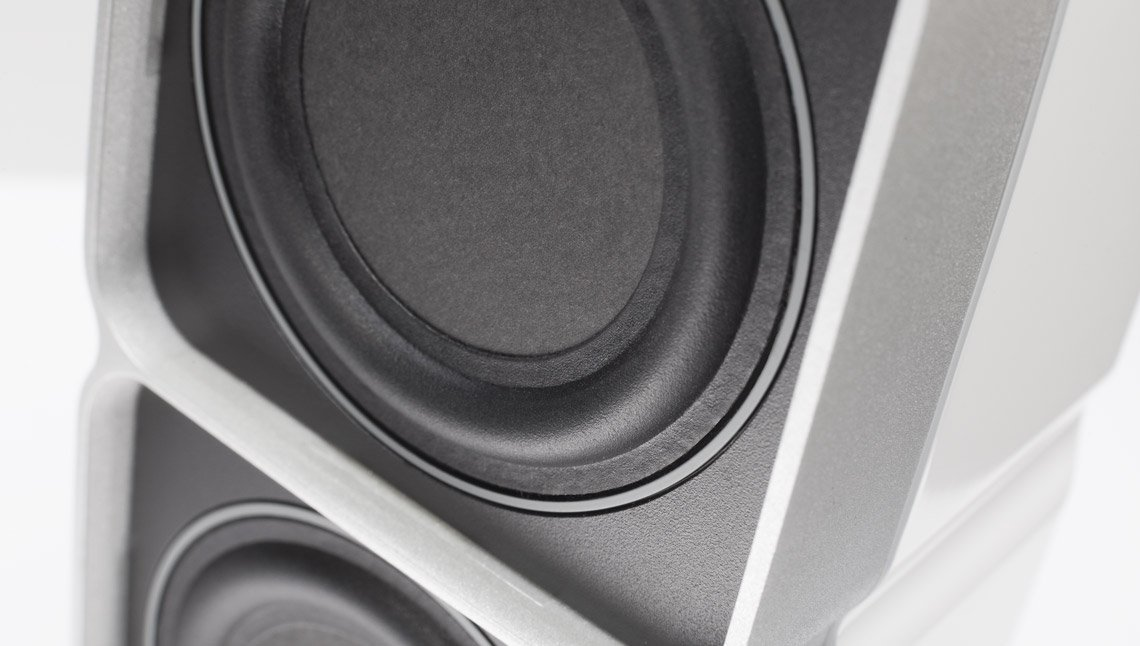 BMR speaker close up