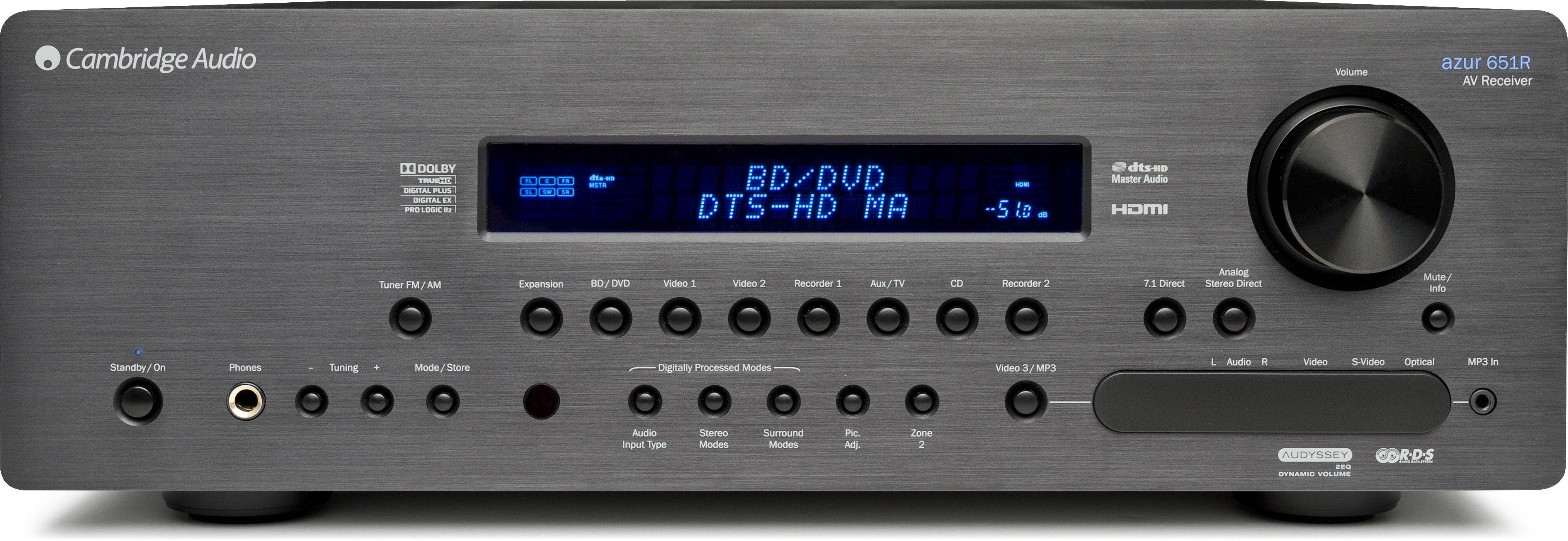 Details about Cambridge Audio Azur 651R Home Theater Receiver 7 1  Multi-Channel (Black)