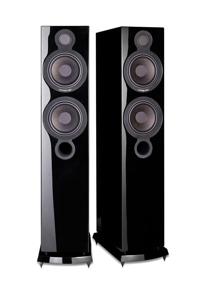 AeroMax 6 Floorstanding Speakers Gloss Black (PAIR)