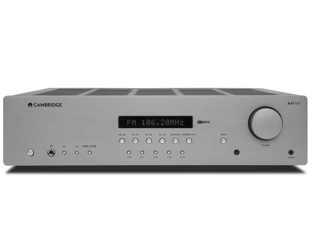 AXR100 Stereo Receiver Grey