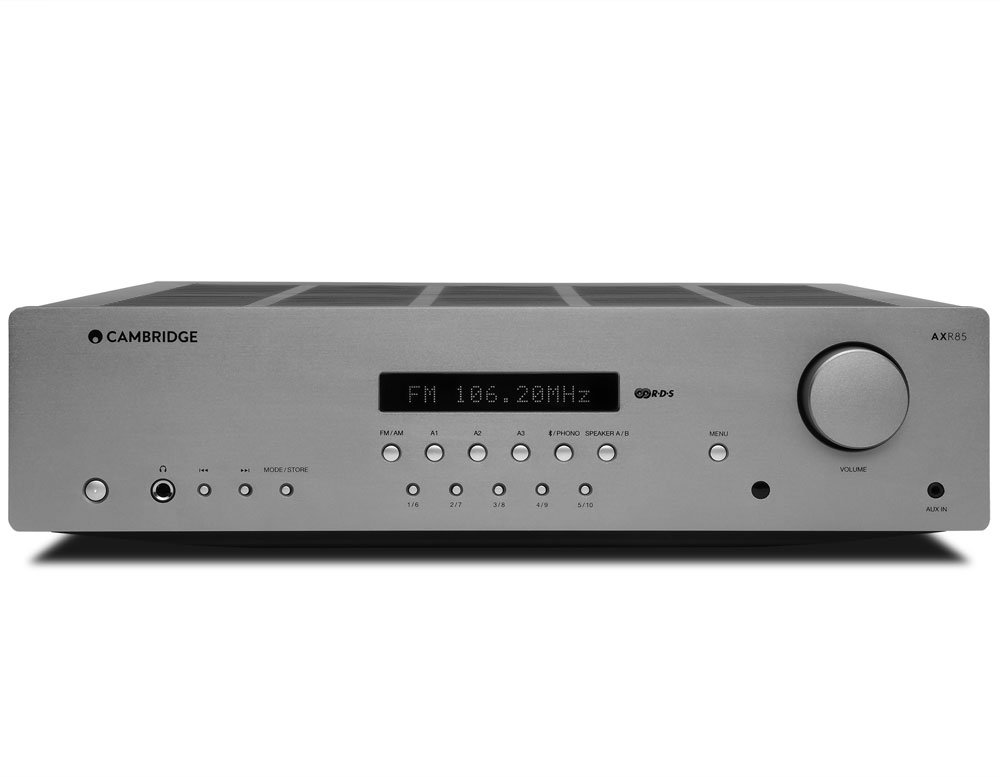 AXR85 Stereo Receiver Grey