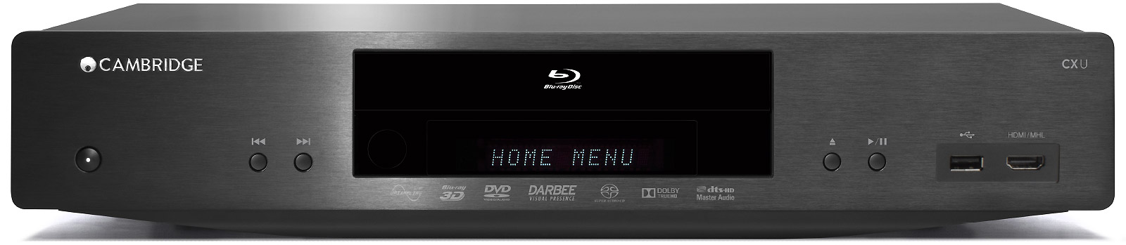 CXU - Universal Blu-Ray Player | Cambridge Audio