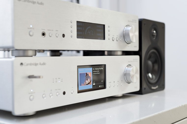 851 hi-fi system playing DSD audio file
