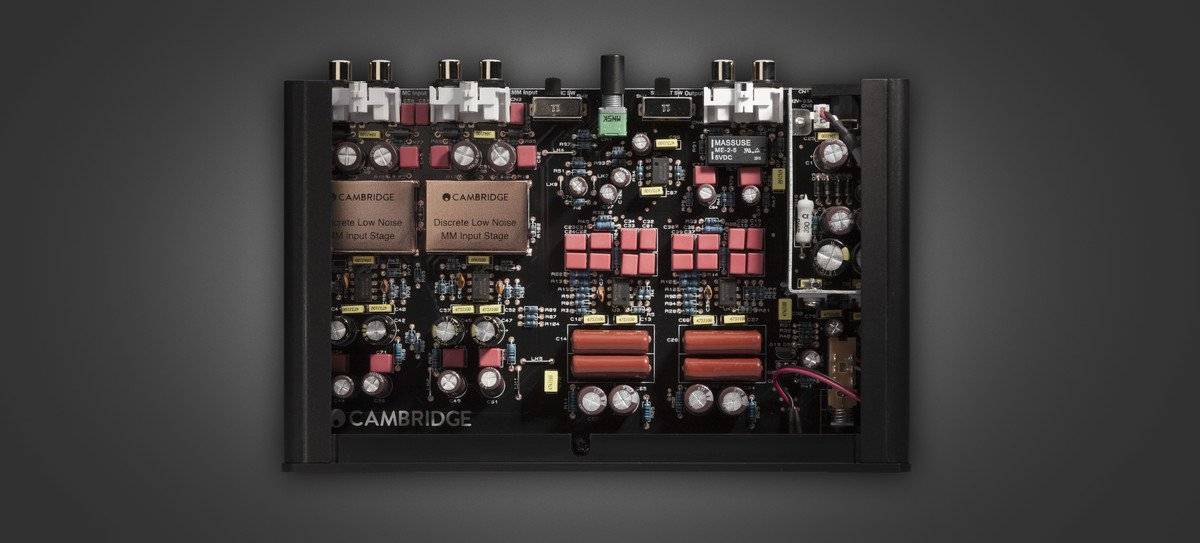 Inside a Cambridge Audio Phono stage