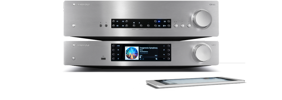 Cambridge Audio CX Hi-Fi with mobile device