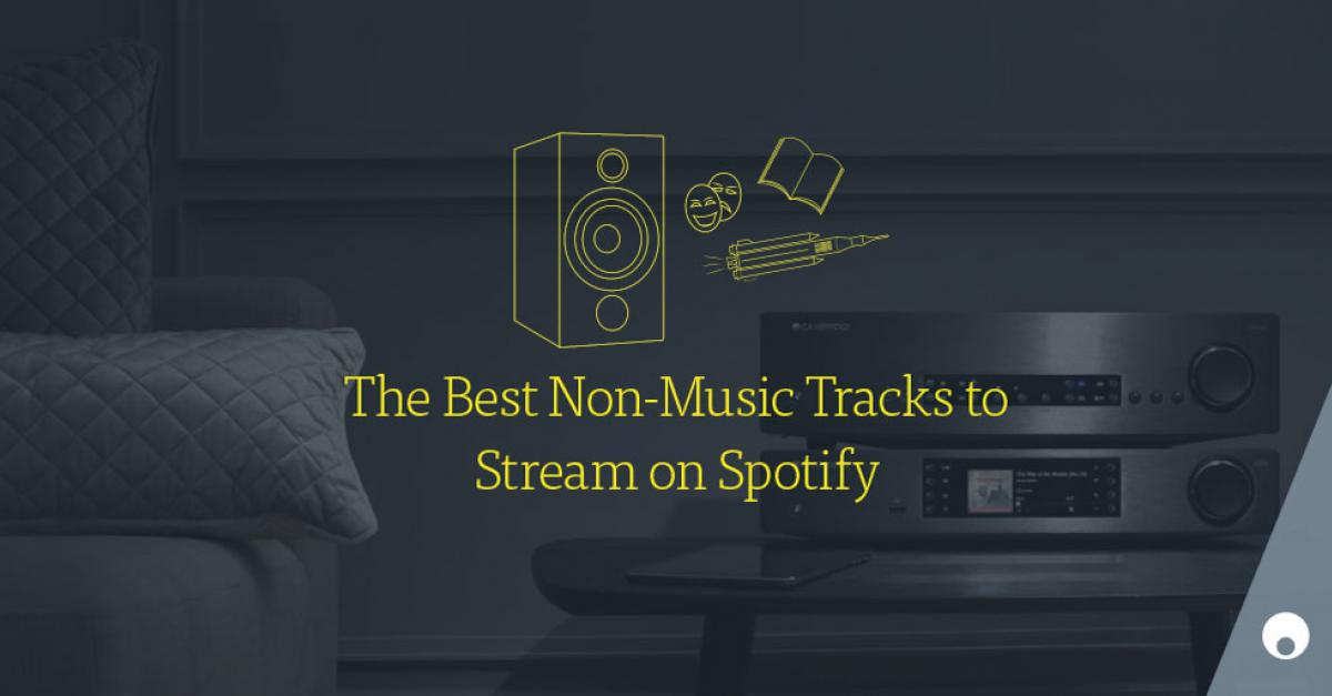 The Best Non-Music Tracks to Stream on Spotify | Cambridge Audio
