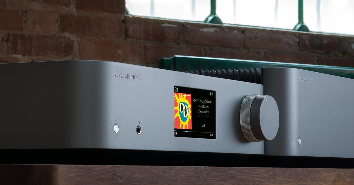 Edge NQ - Preamplifier with Network Player | Cambridge Audio