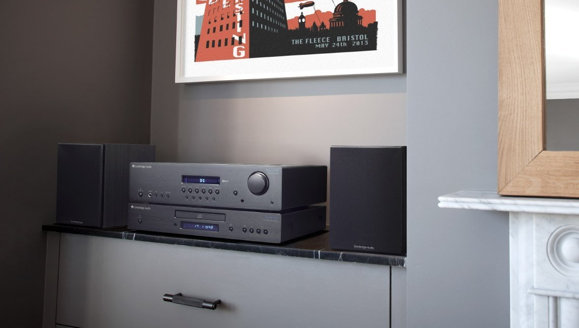 Cambridge Audio SR10 setup