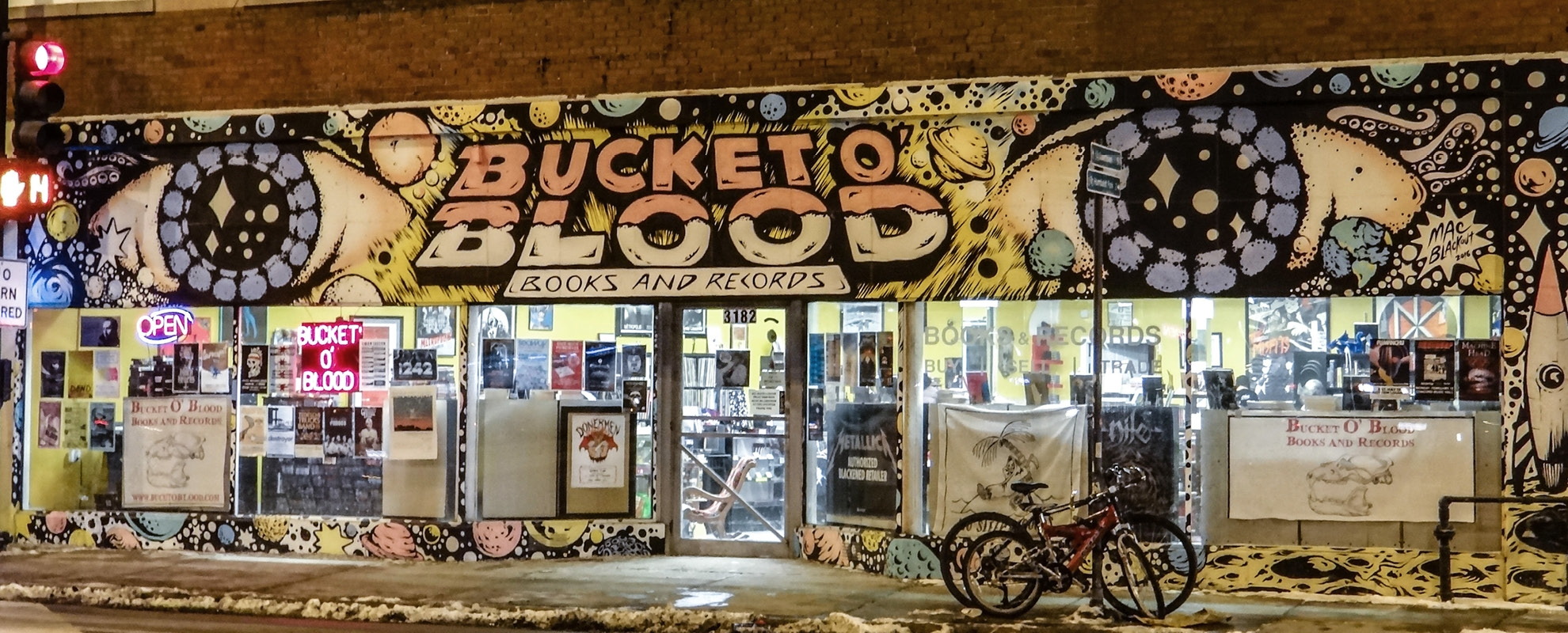 Record Store Spotlight – Bucket O' Blood Books and Records, Chicago