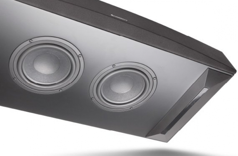 DUAL DOWNWARDS FIRING SUBWOOFERS