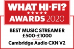 What Hi-Fi? 5 star CXN
