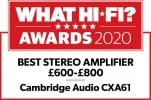 What Hi-Fi? 5 star CXA61