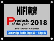 Products of the Year 2018 - Pre + Power Amplifier