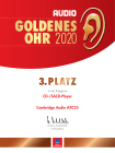 3RD AXC25 AUDIO Goldenes Ohr Award